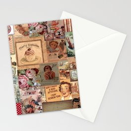 Cherry Cupcake Stationery Cards