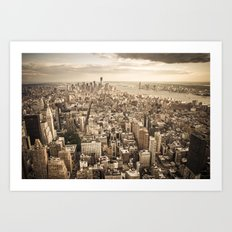 New York from above Art Print