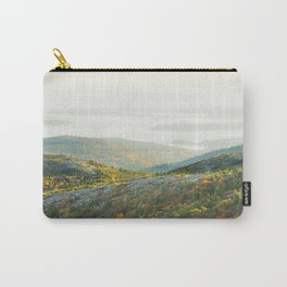 Cadillac Mountain in Fall, Acadia National Park on The Coast Of Maine Carry-All Pouch