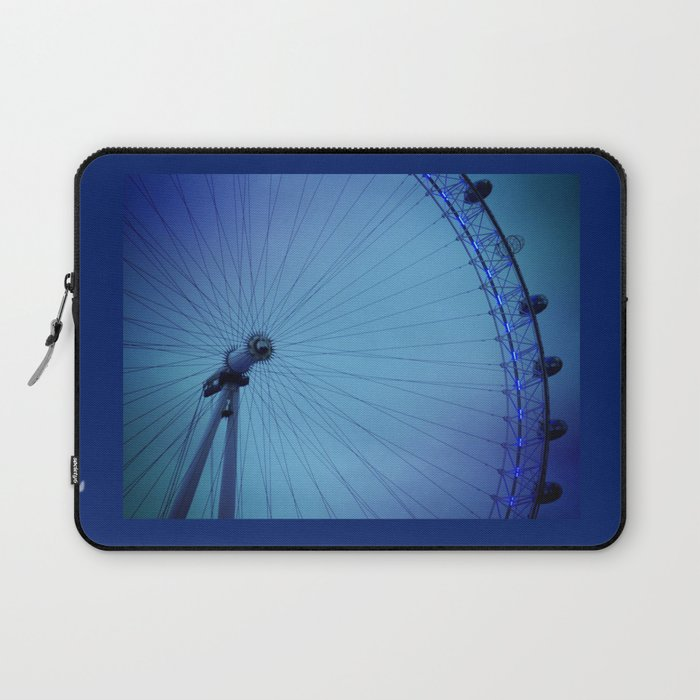 London Eye Blues Laptop Sleeve
