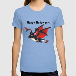 Corgipire Bat (With Text) T-shirt