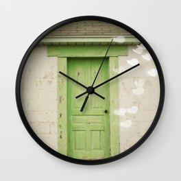 Forgotten Dreams Wall Clock