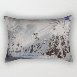 Jess Blue Rectangular Pillow