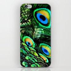 Oiled Peacock iPhone & iPod Skin