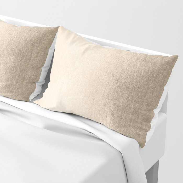White Gold Sands Pillow Sham