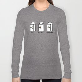 Soy Coconut Almond Long Sleeve T-shirt