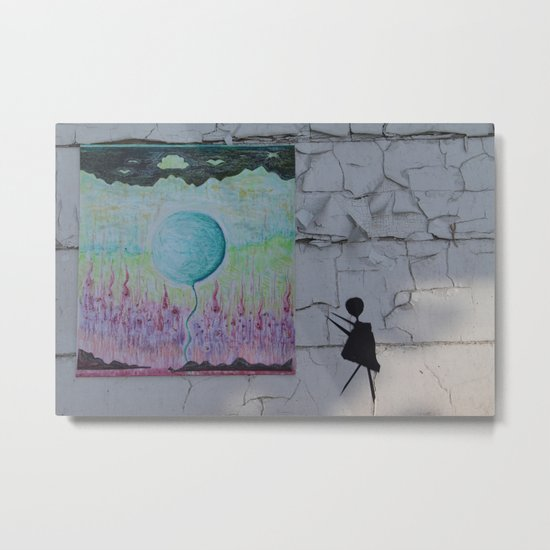 CRAYON LOVE _ Chasing Lonely Loons_ not the birds Metal Print