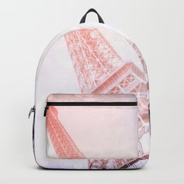 Shimmering Pink Paris Memories Backpack