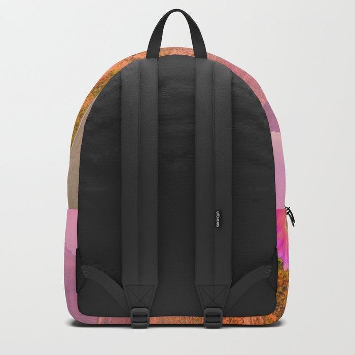 Road landscape Backpack