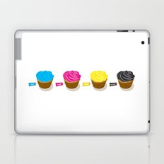 CMYK cupcakes Laptop & iPad Skin
