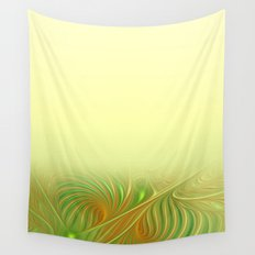 window curtain fractal design -118- Wall Tapestry