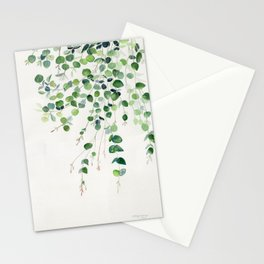 Eucalyptus Watercolor Stationery Cards