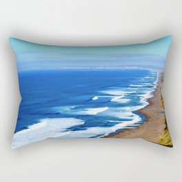 California Coast Loving Rectangular Pillow