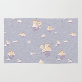 Puffinry Rug