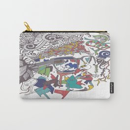 A Woman Carry-All Pouch