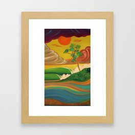 deep_water art Framed Art Print