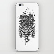 New life (b&w) iPhone & iPod Skin
