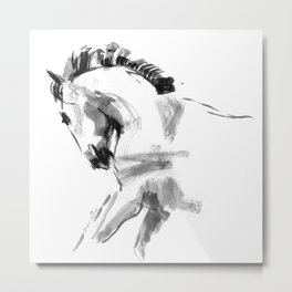 Young Beautiful Horse Metal Print