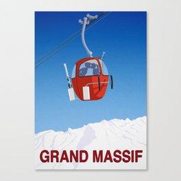 Grand Massif Canvas Print