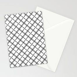 Isla - Black and White Pattern Stationery Cards
