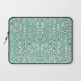 Birch Tree northwest minimal forest woodland nature pattern by andrea lauren Laptop Sleeve