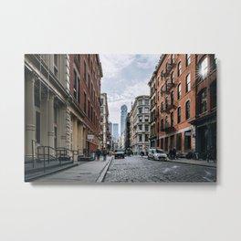 Greene Street SOHO New York City Metal Print