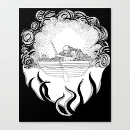 Dead in the Water Canvas Print