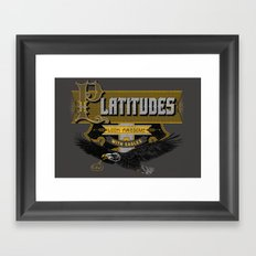 Platitudes Look Awesome With Eagles! Framed Art Print