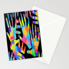 Hands of colors | Hands of light Stationery Cards