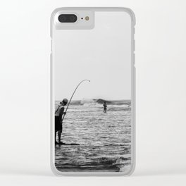 Barrel Hooker Clear iPhone Case