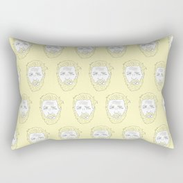Yellow Hardy Rectangular Pillow