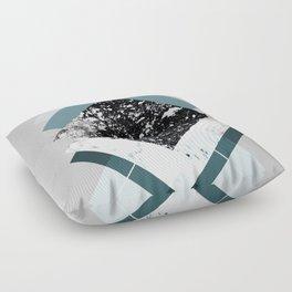 Geometric Textures 8 Floor Pillow