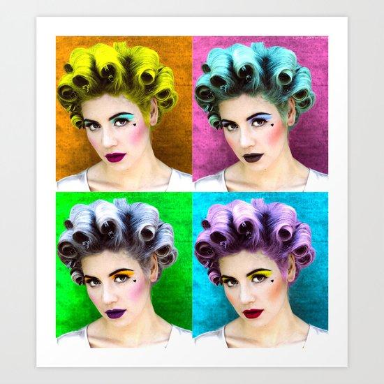 ELECTRA POP Art Print