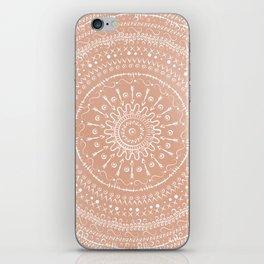 Geometric tribal mandala iPhone Skin