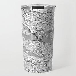 Stockholm Map Line Travel Mug