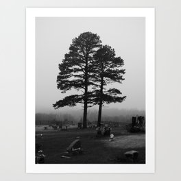 spooky tree III Art Print