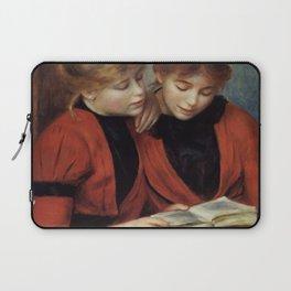 """Auguste Renoir """"The Two Sisters"""" Laptop Sleeve"""