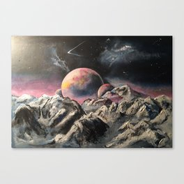 Space mystery.. part2 Canvas Print