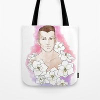 agents of shield Tote Bags featuring Agents - Krem by Tobie1Kenobi