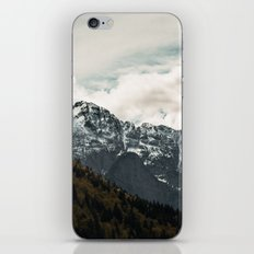 Mountain & Clouds iPhone & iPod Skin