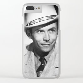 Old Hankie Williams Clear iPhone Case