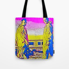 It Is He Who Knocks Tote Bag