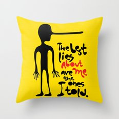 Best Lies Throw Pillow