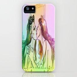 Valentine -Love yourself iPhone Case