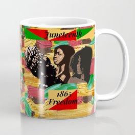 Juneteenth 1865 Freedom Collage Coffee Mug