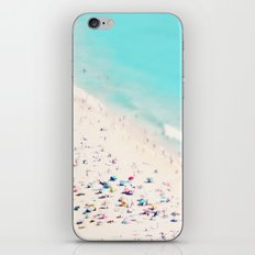 beach love III square iPhone & iPod Skin