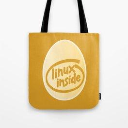 LINUX INSIDE  Tote Bag
