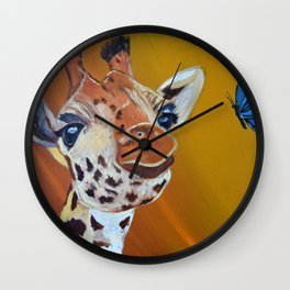 Your spots are beautiful Wall Clock