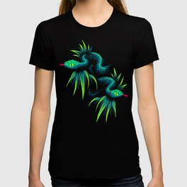 Mr Snake in the Rainforest - Green T-shirt