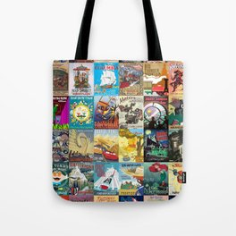 Amusement Rides Tote Bag